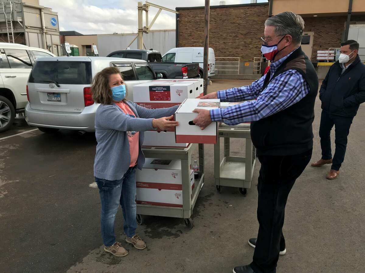 Concho Resources on Monday donated 280 Thanksgiving meals to the frontline health care workers at Manor Park to show appreciation for their hard work and sacrifices, according to a press release from the facility.