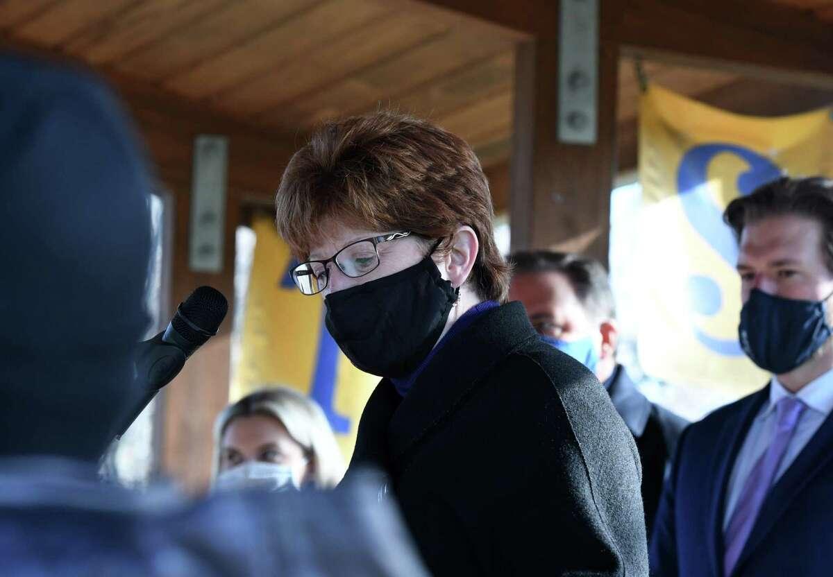 Mayor Kathy Sheehan(Will Waldron/Times Union)