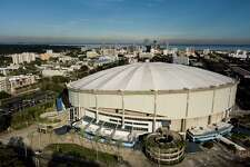 WWE will start a show residency at Tropicana Field in St. Petersburg, Fla., on Dec. 11, 2020.