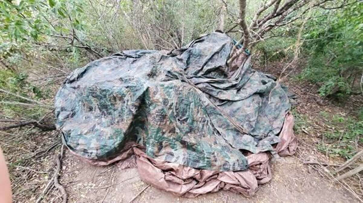 U.S. Border Patrol agents said they seized more than 900 pounds of marijuana in Zapata County. The contraband had an estimated street value of $767,648.