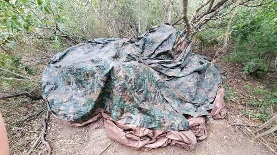 U.S. Border Patrol agents said they seized more than 900 pounds of marijuana in Zapata County. The contraband had an estimated street value of $479,500. Photo: Courtesy Photo /U.S. Border Patrol