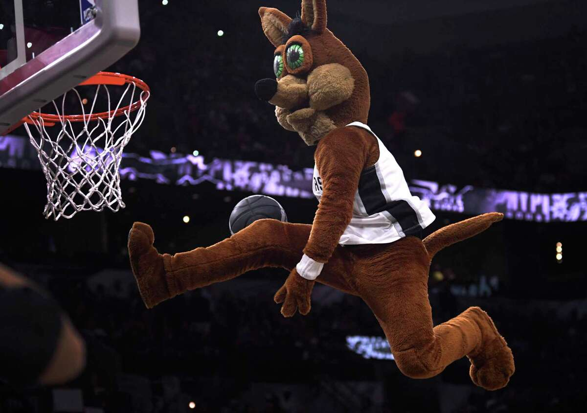 Even in a pandemic-stricken season, the Spurs Coyote had his green eyes on the prize: the bragging rights of being named NBA Mascot of the Year.