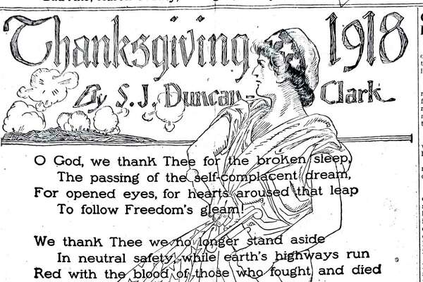 An article that appeared in a Nov. 1918 edition of the Huron Daily Tribune.