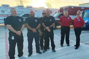 A number of Houston firefighters have sacrificed their Thanksgiving plans to fight COVID-19 across the state.