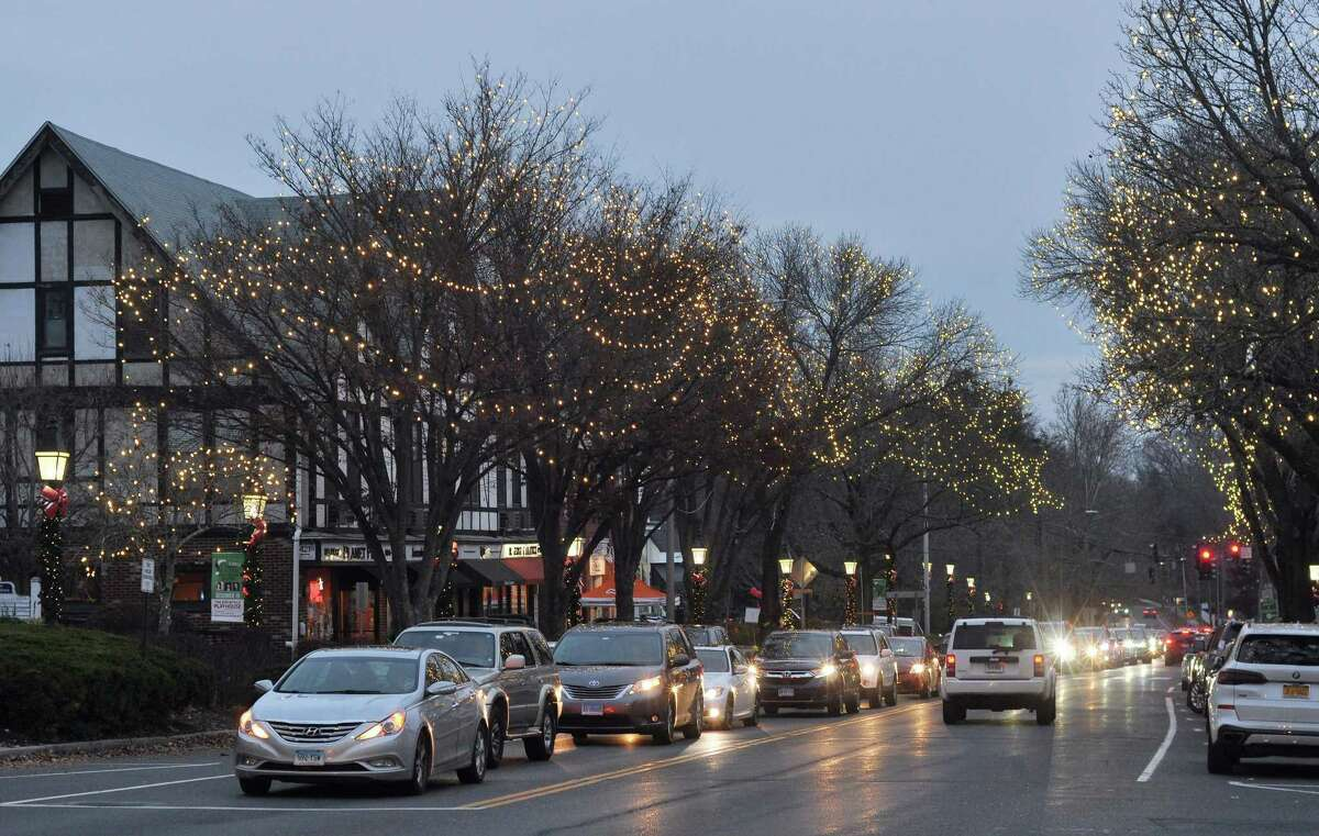 The lights in Ridgefield have been on in the evening so people with activities limited by COVID-19 can enjoy them.