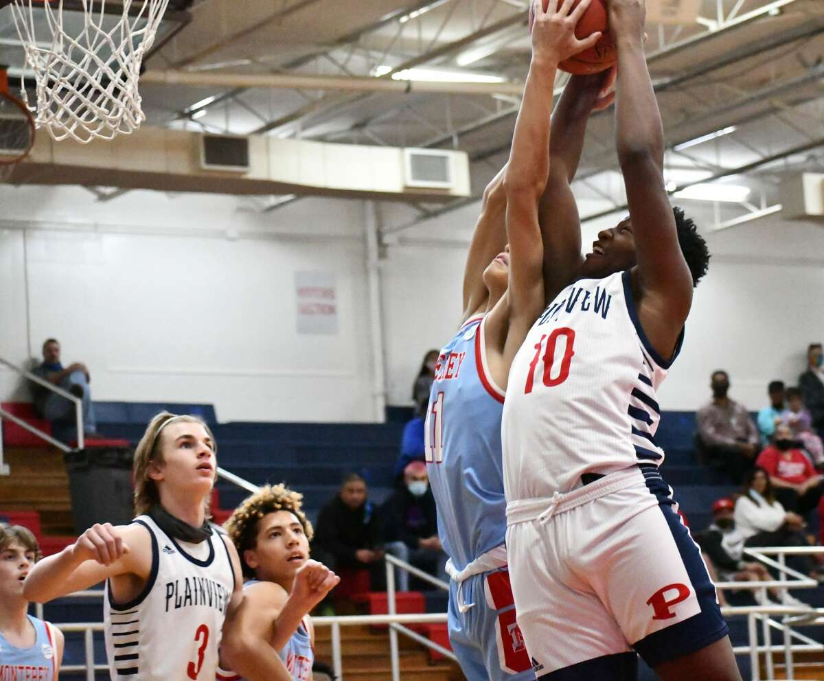 The Plainview boys basketball team hosted Lubbock Monterey in a non-district tilt on Tuesday, Nov. 24, 2020 in the Dog House and Plainview High School.