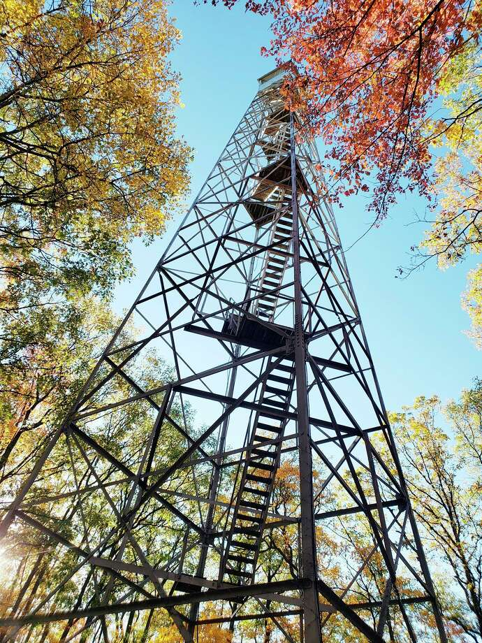 The U.S. Forest Service now has a proposed list of deferred maintenance projects for the 2022 fiscal year up for public input through Nov. 30. Relocation of the Udell Fire Tower on Fire Tower Road near Wellston in the is on the list. (File photo)