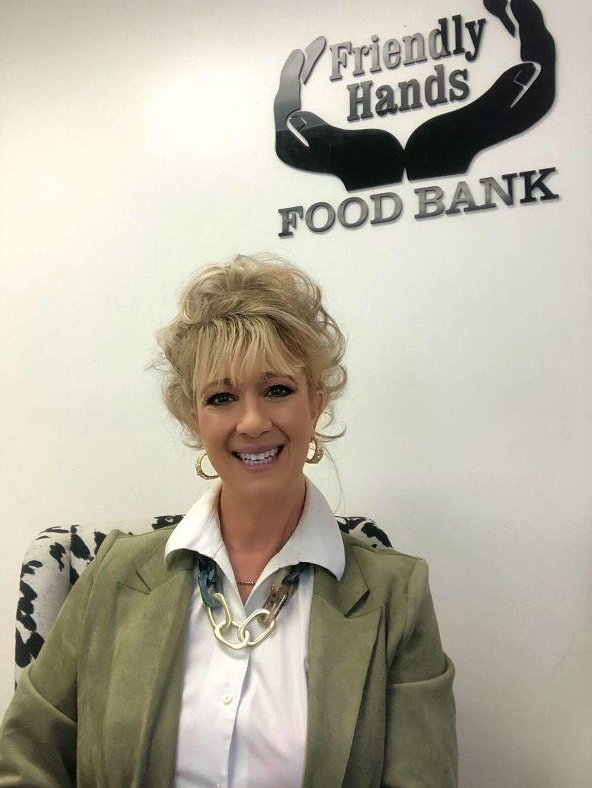 Friendly Hands Food Bank Executive Director Karen Thomas.