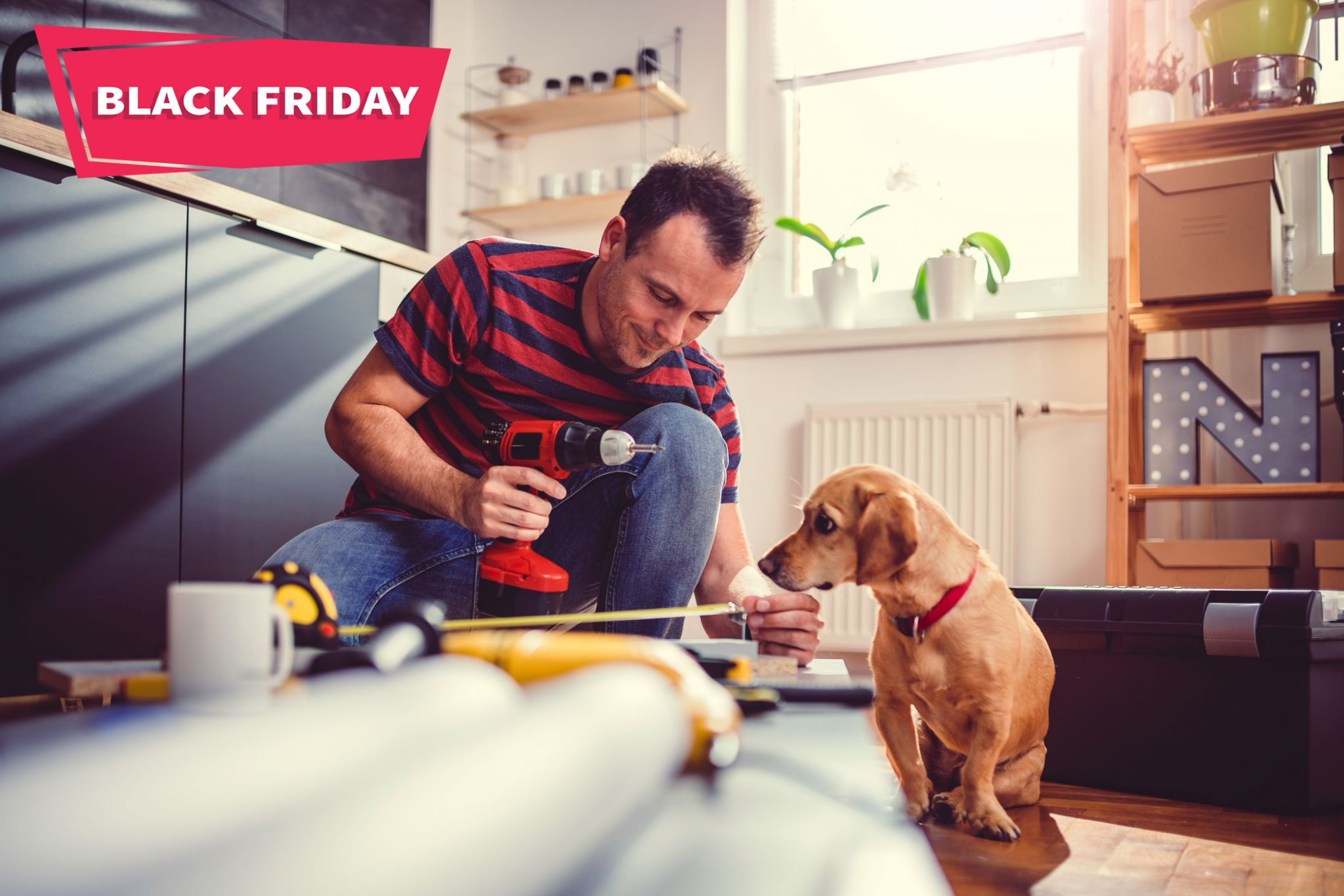 Deck the halls with these Black Friday power tool deals at Home Depot and Lowes.