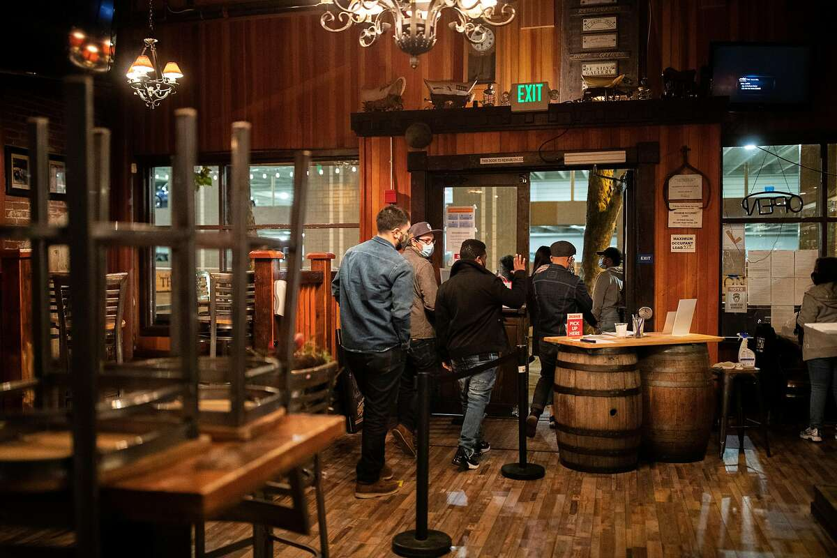 Bars in San Francisco will have to shutter their indoor service if the city moves into the state's most restrictive reopening tier, which health officials anticipate.