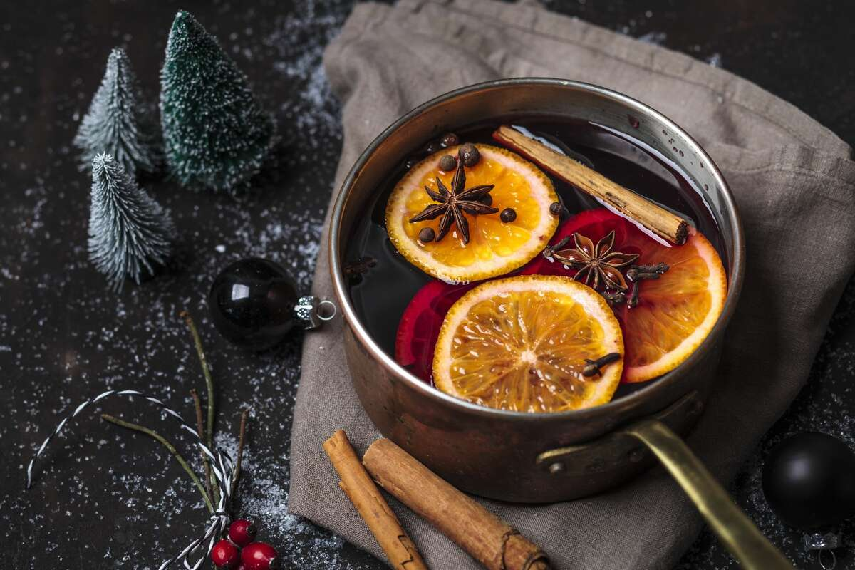 You can't sit inside a bar this year, but you can make the Albatross Pub's mulled wine at home.