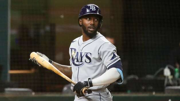 Randy Arozarena was a breakout star for the Tampa Bay Rays in the postseason. (Dirk Shadd/Tampa Bay Times/TNS) Photo: Dirk Shadd, TNS