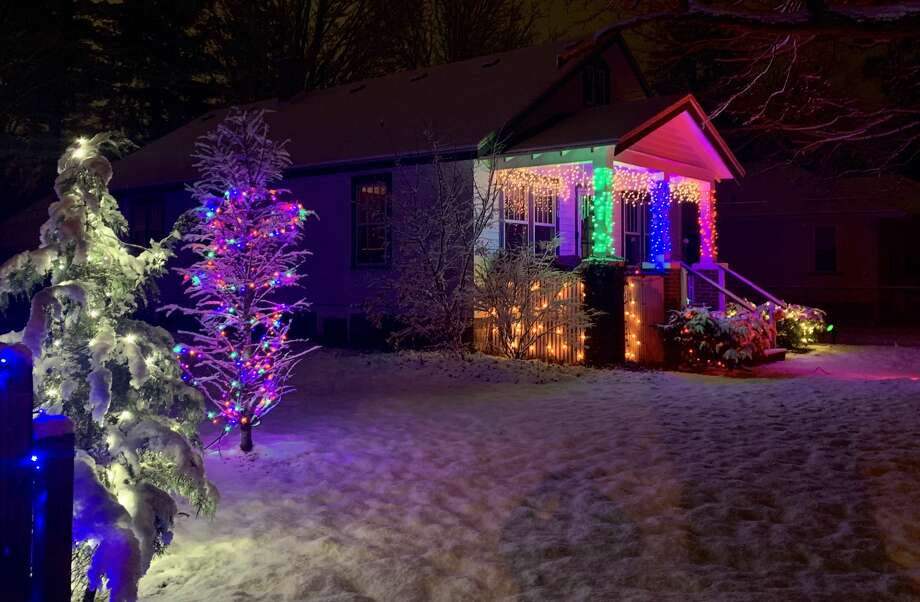 Images of holiday decorations from around Midland Photo: Fred Kelly/fred.kelly@mdn.net