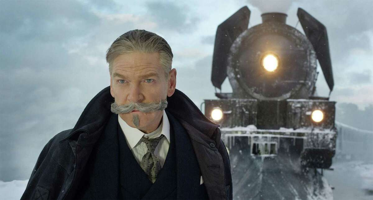 Kenneth Branagh as Agatha Christie's detective Hercule Poirot in