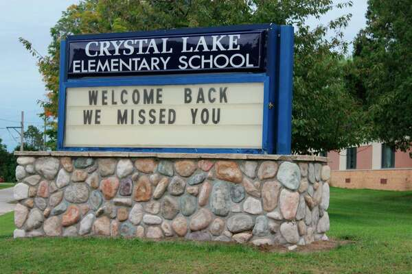 Crystal Lake Elementary School has closed temporarily to in-person learning due to a positive case of COVID-19. (File Photo)