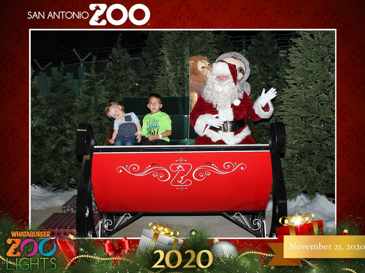 During the annual Zoo Lights, kids have the chance to take photos with Santa, but 3-year-old Jayden did not want any part of it. Instead of smiling for a photo, he played dead, said zoo president Tim Morrow.