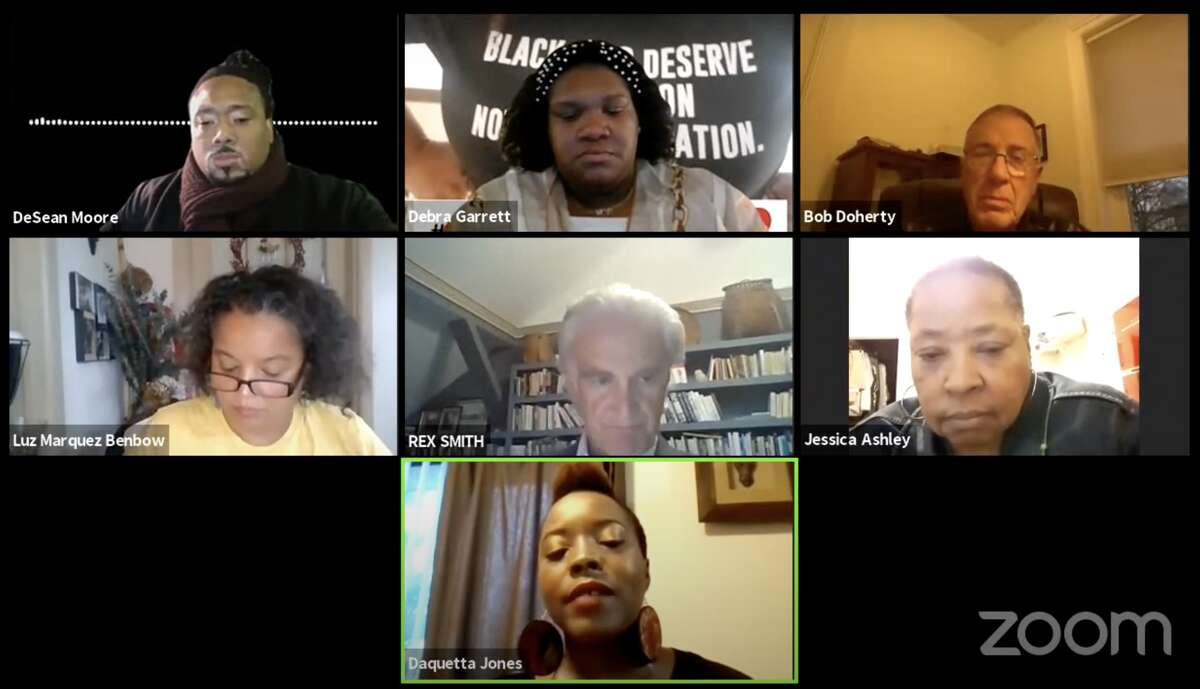 Troy residents discussed their appalled reactions to officials' denial that systemic racism exists.