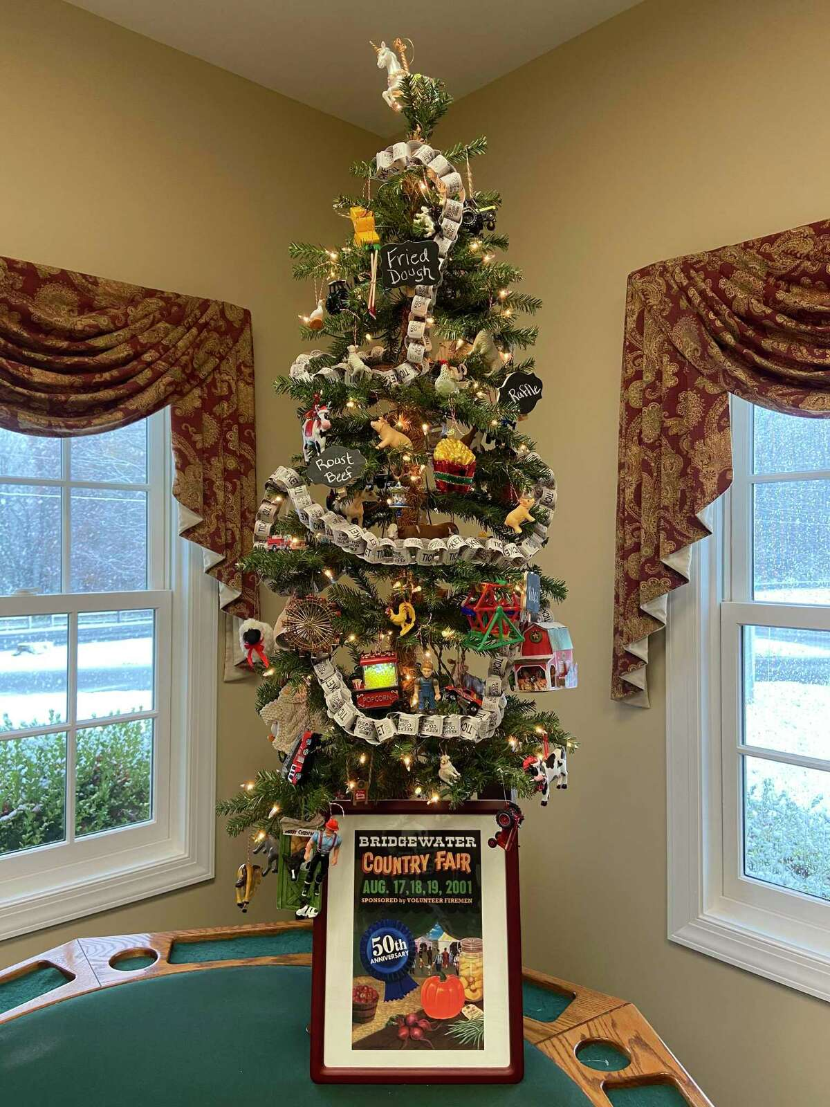 Hilltop Center in Bridgewater has entered a tree in the Ann's Place Festival of Trees event. Voting runs through Dec. 5.