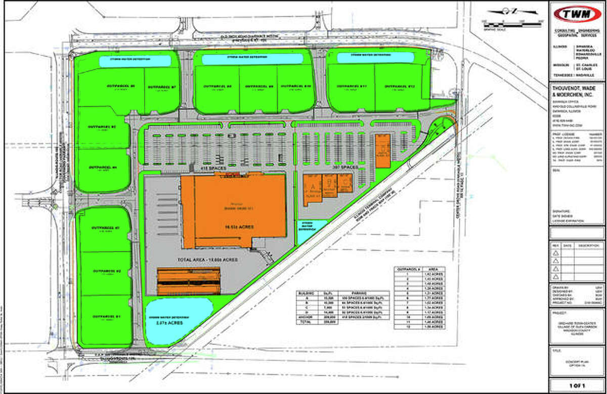 A national hardware store not already in this area is slated to open first in Glen Carbon's Orchard Town Center.