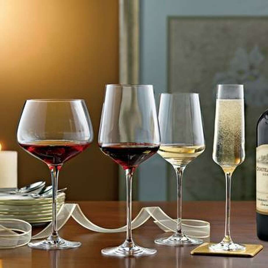 Enhance your wine lover's enjoyment with a special Christmas present of specialized wine glasses for Chardonnay, Cabernet Sauvignon, Pinot Noir, sparkling wines and more. Photo: Courtesy Photo