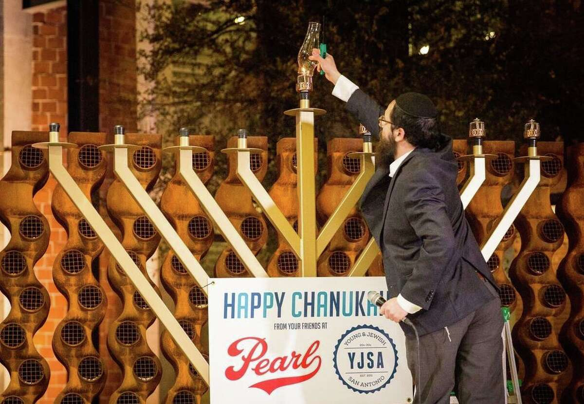 A Chanukah menorah will be lighted and displayed at Pearl beginning Dec. 10