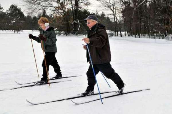 Saratoga Spa State Park is a popular spot for cross country skiing.