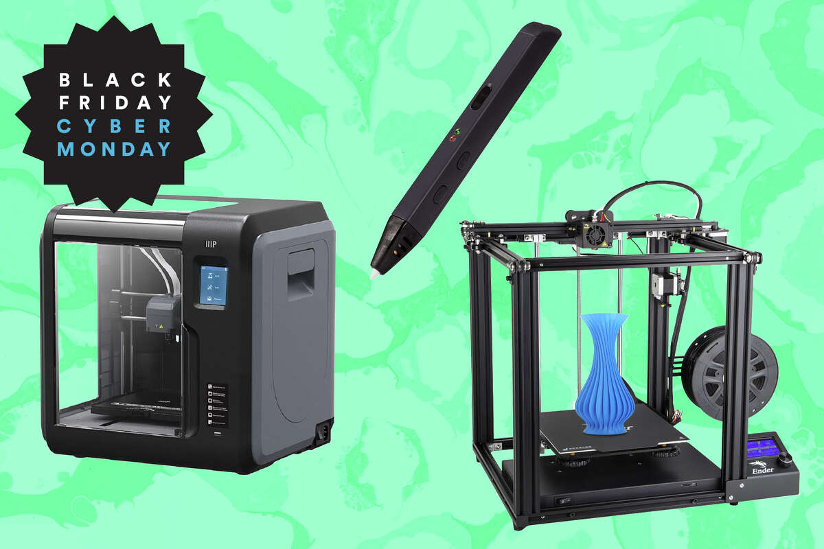 You can get a great 3D printer for under $300 during Black Friday sales.
