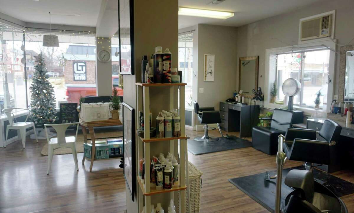 A family salon: E&M Hair offers a variety of cosmetic services to the public. (Pioneer photo/Joe Judd)