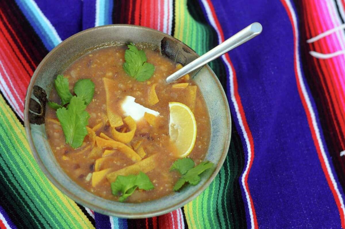 Vitamin Tortilla Soup