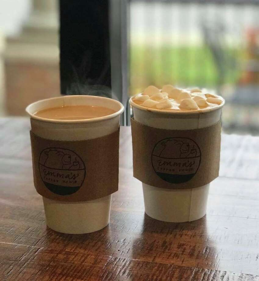 Emma's Coffee House has a variety of holiday drinks and unique gift ideas, both available for purchase through their drive-thru. (Courtesy Photo)