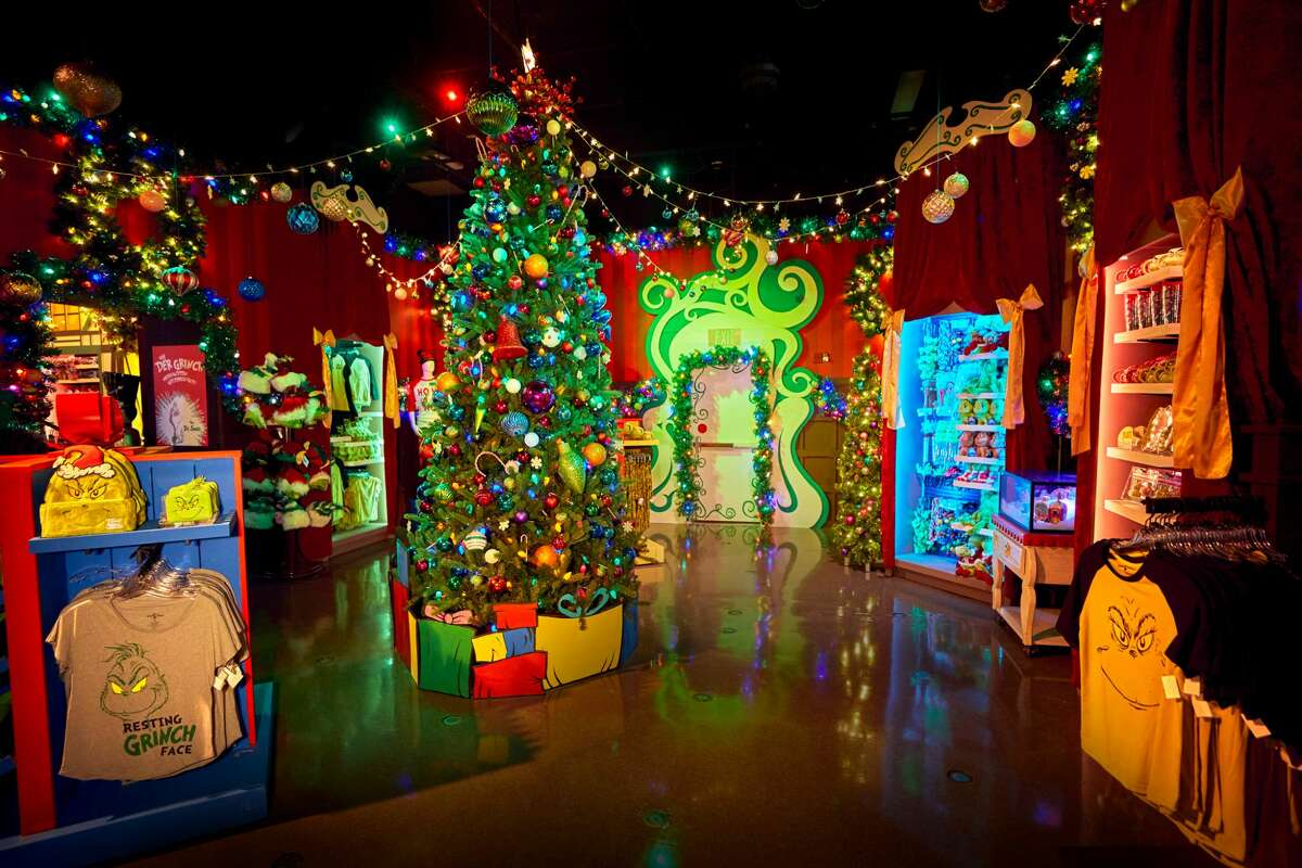 The Grinchmas room at the Universal Orlando Holiday Tribute Store.