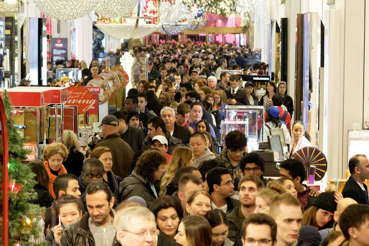 Black Friday has produced huge crowds in recent years in the quest for bargains.