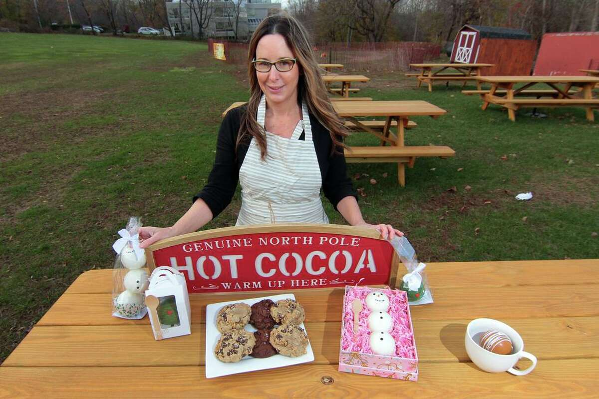 Nikki Rasmussen, who owns Little Whimsy Boutique Bakery, and is the organizer of the first annual
