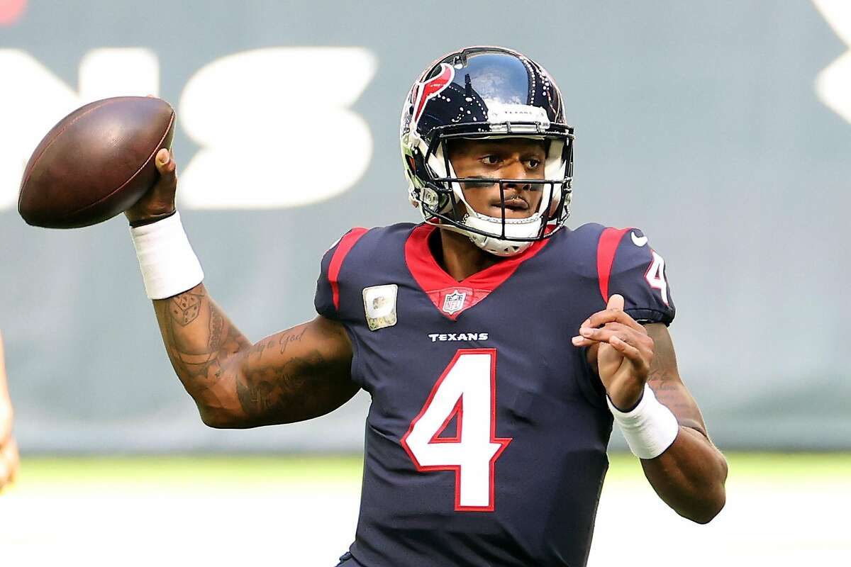 Deshaun Watson and the Texans face the Lions in Detroit at 9:30 a.m. Thursday (Channels 5, 13, 46/104.5, 680).
