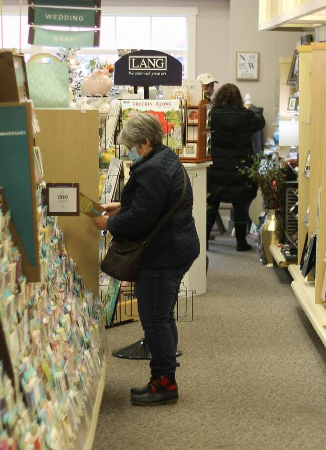 The Manistee Area Chamber of Commerce, as well as local businesses, are encouraging residents and visitors to shop local this holiday season. Studies show that small businesses reinvest $68 back into the community for every $100 spent. Photo: Kyle Kotecki/News Advocate