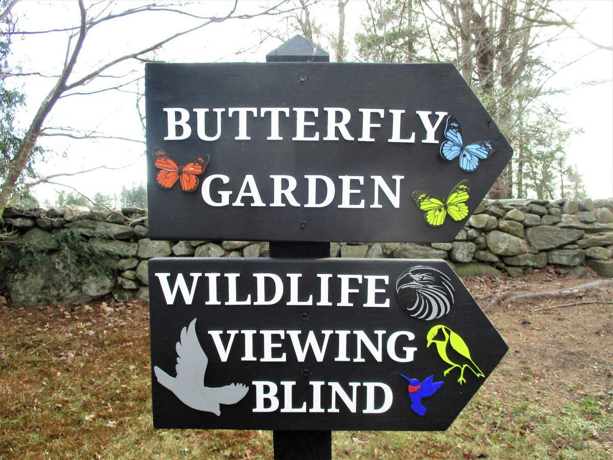 New 3D signage in Topsmead is in place to direct the thousands of visitors to popular spots.