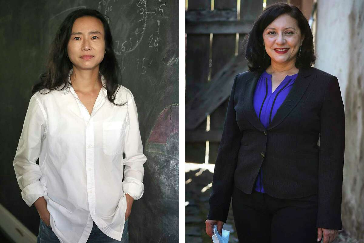Incoming San Francisco Supervisors Connie Chan, left, and Myrna Melgar.