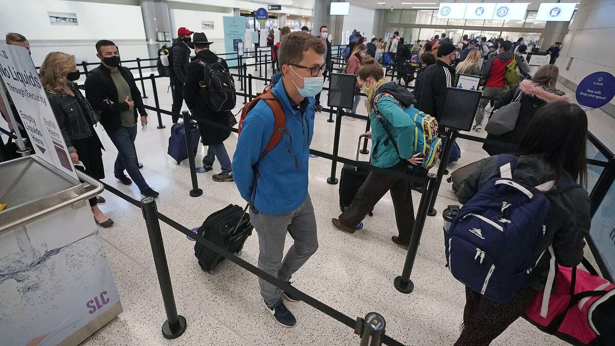 Holiday air travel surges despite dire health warnings Nearly 1.2 million people passed through U.S. airports Sunday, the largest number since the pandemic gripped the country in March, despite pleas from health experts for Americans to stay home over Thanksgiving. The Transportation Security Administration screened at least 1 million people on four of the last 10 days through Sunday. That's still half the crowd recorded last year at airports, when more than 2 million people were counted per day. With new reported cases of coronavirus spiking across the country, the U.S. Centers for Disease Control and Prevention had issued a warning against Thanksgiving travel just a week before the holiday. To read the full story from the Associated Press, click here.