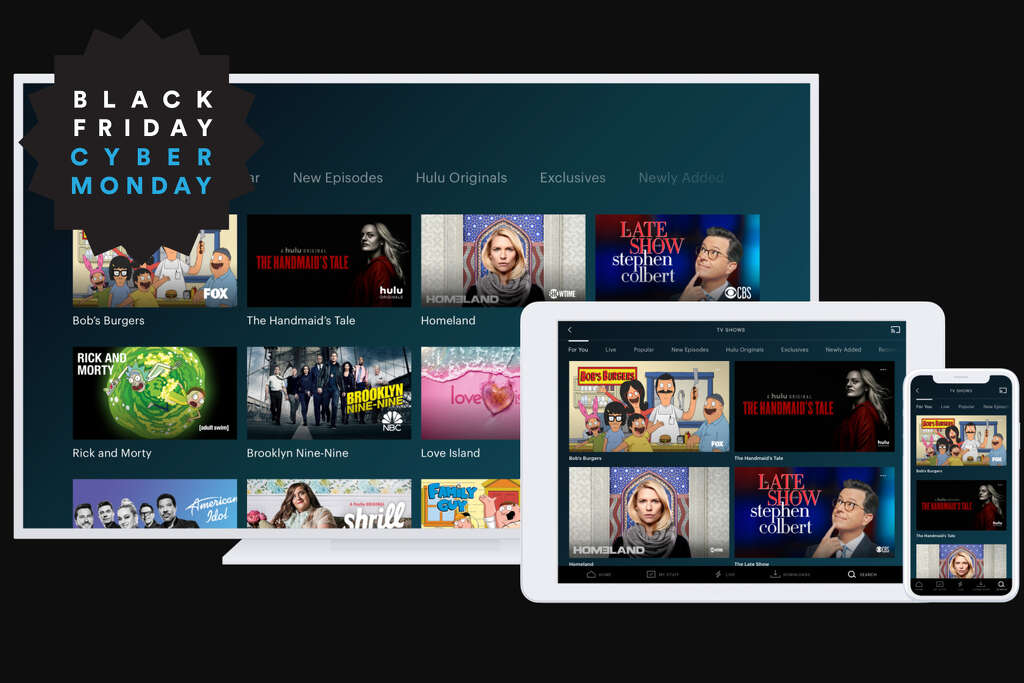 Get Hulu for $1.99/month, Black Friday/Cyber Monday offer