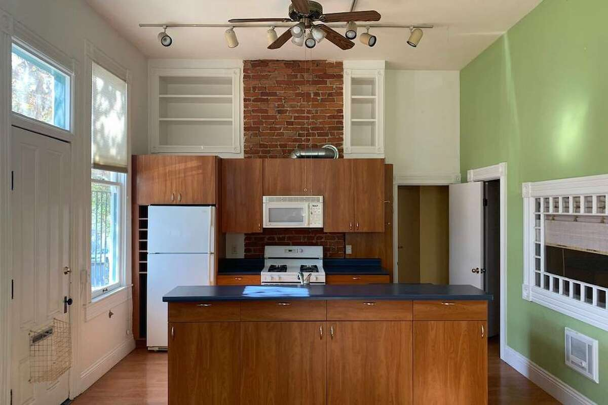 The listing says the kitchen has been remodeled.
