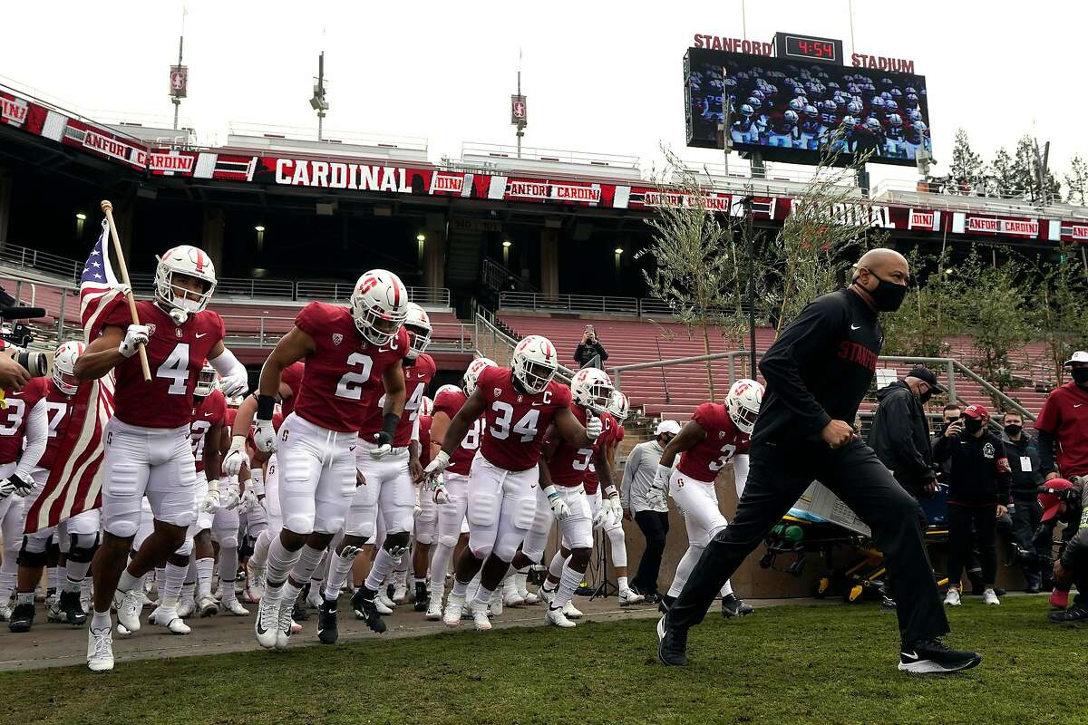 Head coach David Shaw and his Stanford football team might have to relocate to a different stadium to play games.