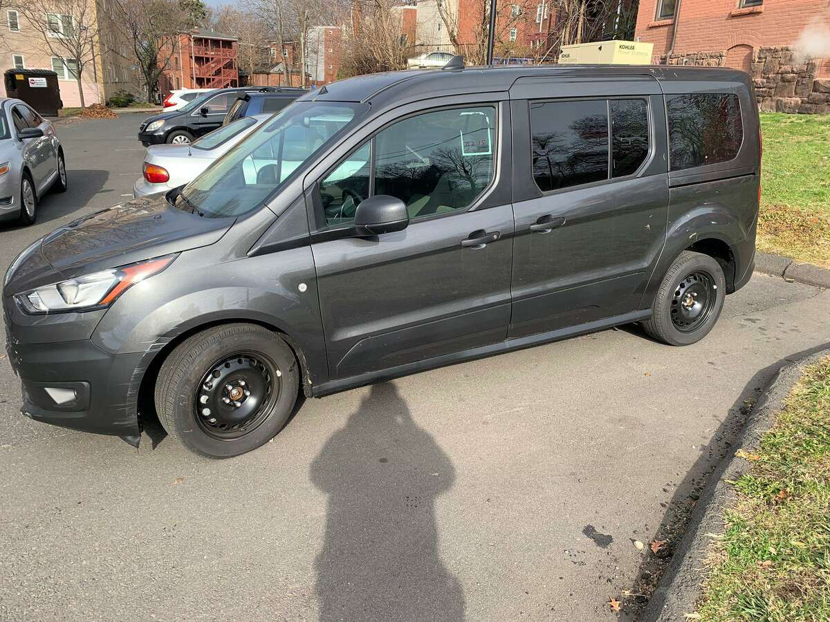 A van stolen in Hartford and recovered by city police