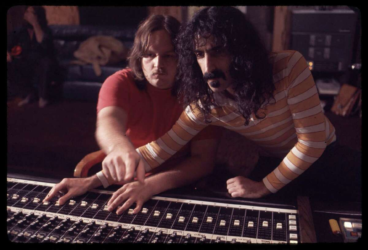 """(L-r) Kerry McNabb and Frank Zappa in """"Zappa,"""" which remembers the titular rocker as an exacting, aloof and withholding leader."""