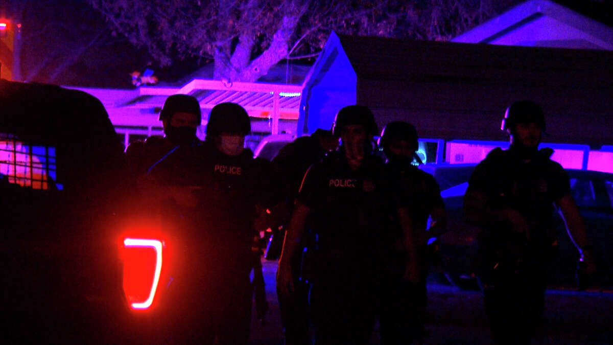 San Antonio police shot and killed a man on the Northeast Side after a shootout with officers Wednesday night, the department said.