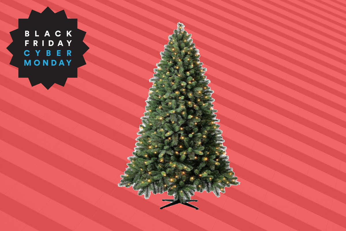 Evergreen Classics® Pre-Lit Norwich Spruce Artificial Christmas Tree, 7.5', $68 at Walmart