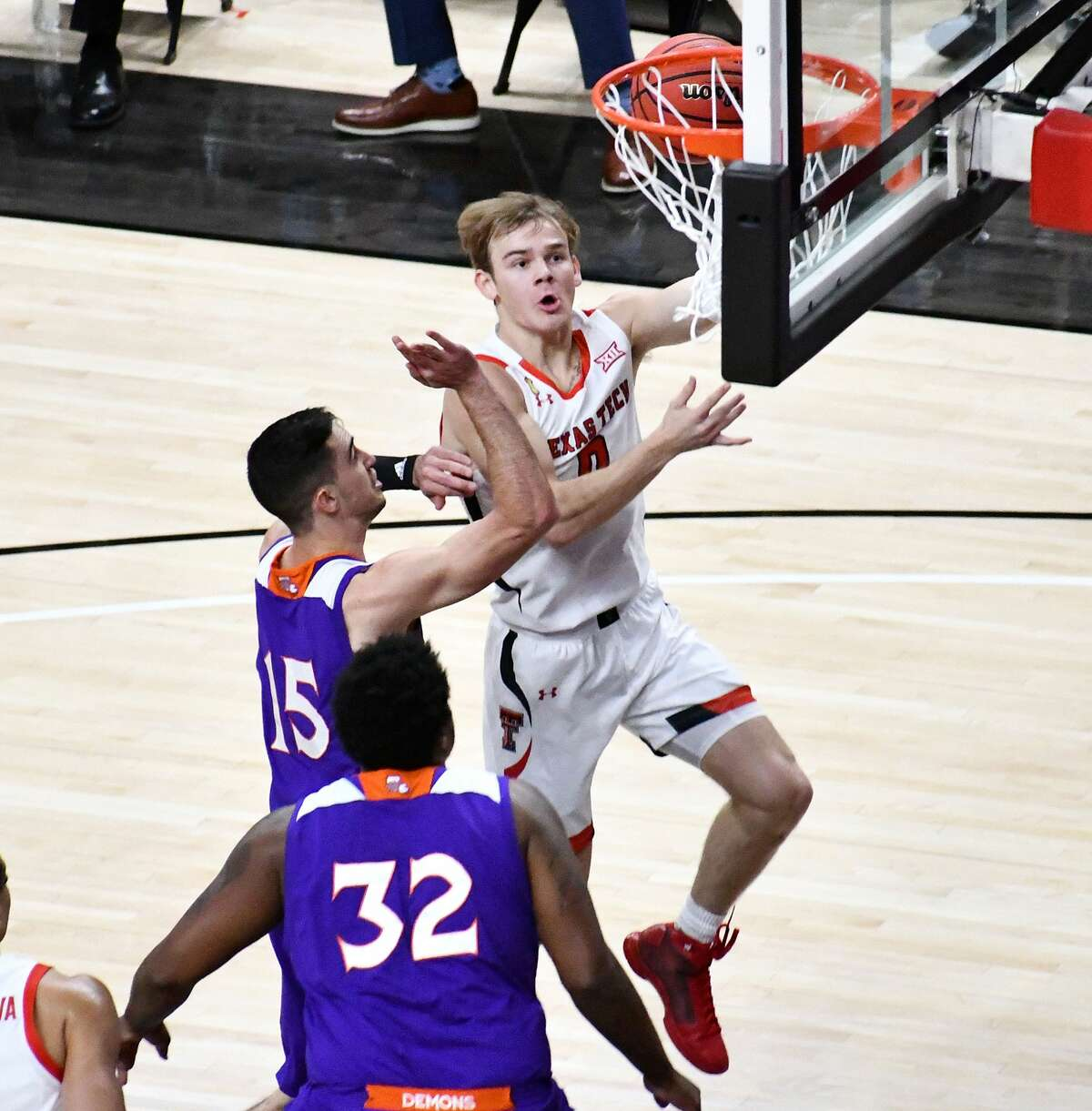 Mac McClung had a game-high 20 points in his first game as a Red Raider.