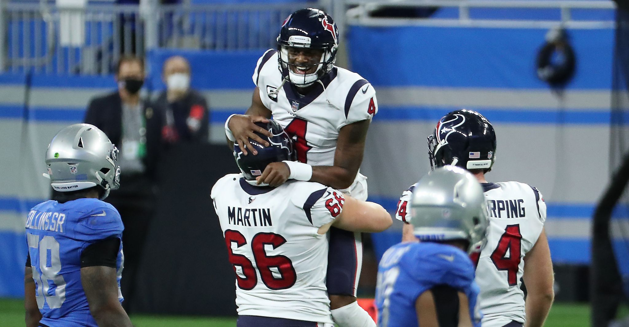 John McClain's takeaways from Texans 41, Lions 25