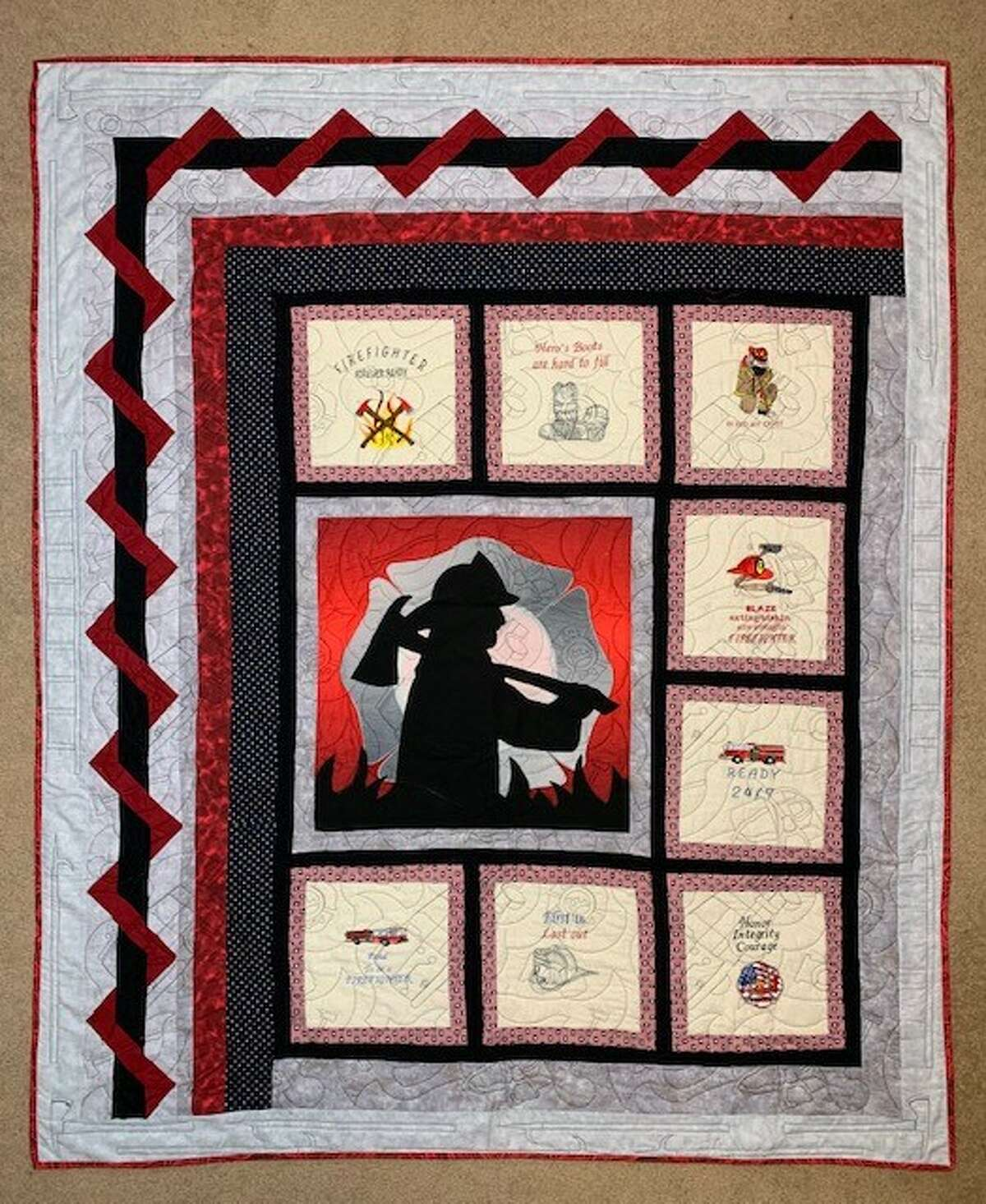 Floyd Country Christmas Ball organizers will auction off a special quilt.