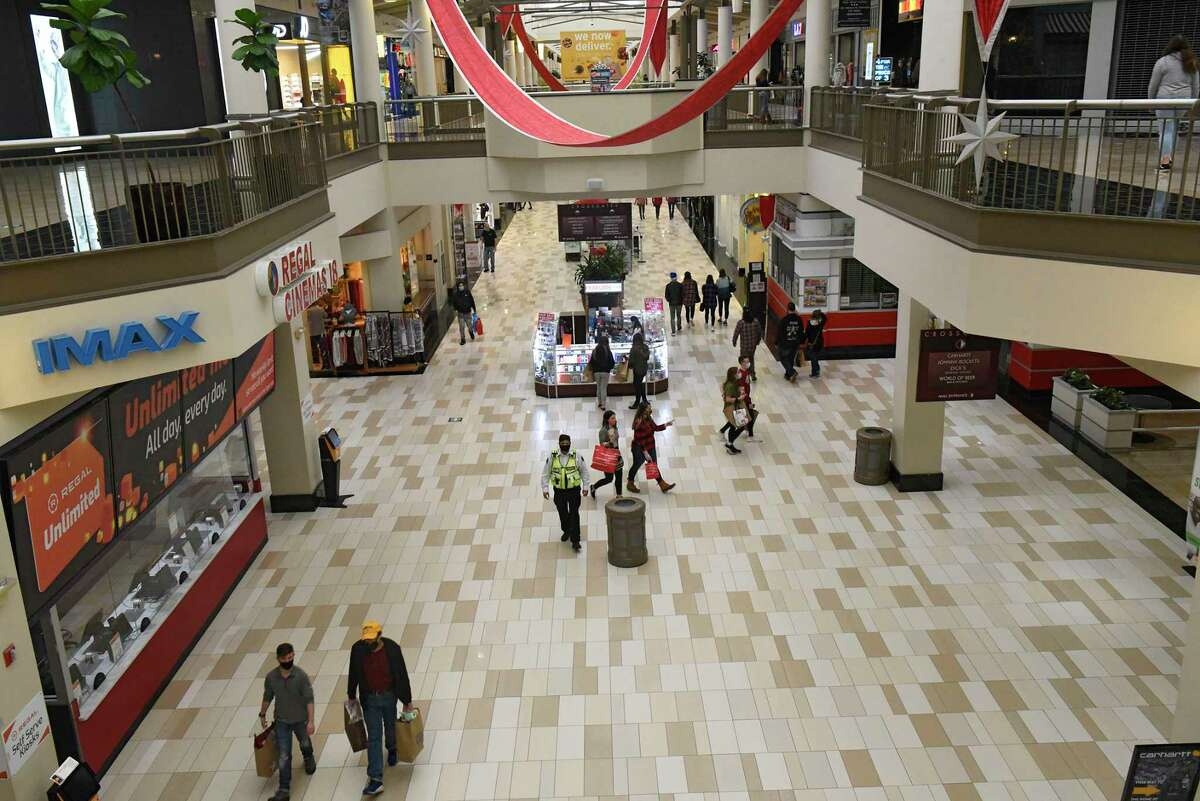 Black Friday holiday shoppers were fewer at Crossgates Mall due to the pandemic on Friday, Nov. 27, 2020 in Guilderland, N.Y. (Lori Van Buren/Times Union)