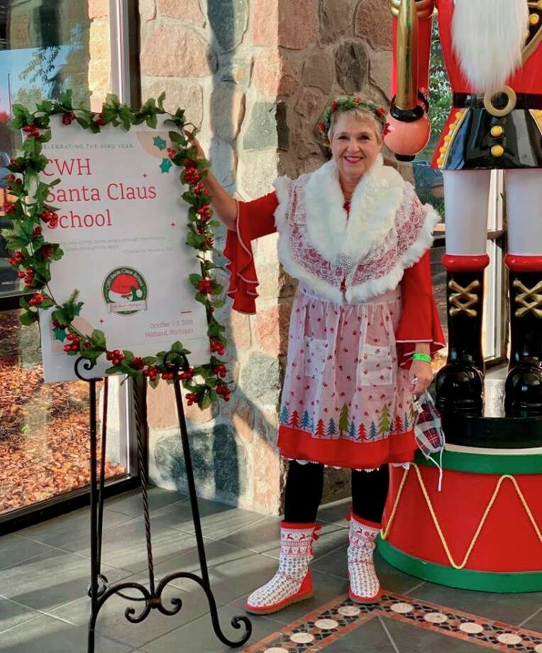 Holly Valent at the the Charles W. Howard Santa Claus School. (photo provided/Holly Valent)